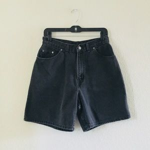 Vintage Chic High Waisted jean shorts
